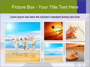 Lake Tahoe Sunset PowerPoint Template - Slide 19