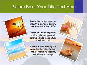 Lake Tahoe Sunset PowerPoint Template - Slide 24