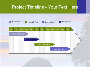 Lake Tahoe Sunset PowerPoint Templates - Slide 25