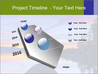 Lake Tahoe Sunset PowerPoint Template - Slide 26
