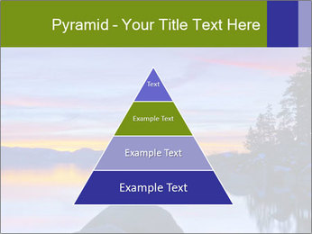 Lake Tahoe Sunset PowerPoint Template - Slide 30