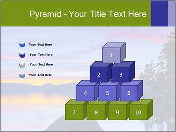 Lake Tahoe Sunset PowerPoint Templates - Slide 31
