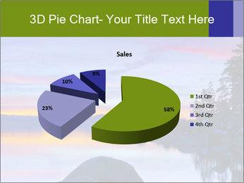 Lake Tahoe Sunset PowerPoint Templates - Slide 35