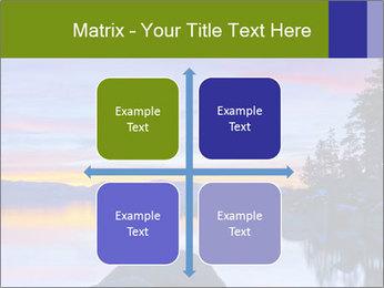 Lake Tahoe Sunset PowerPoint Template - Slide 37