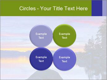 Lake Tahoe Sunset PowerPoint Template - Slide 38
