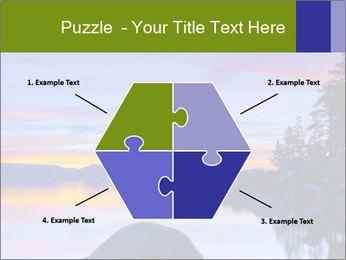 Lake Tahoe Sunset PowerPoint Template - Slide 40