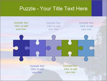 Lake Tahoe Sunset PowerPoint Template - Slide 41