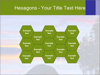 Lake Tahoe Sunset PowerPoint Templates - Slide 44