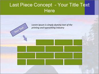 Lake Tahoe Sunset PowerPoint Template - Slide 46