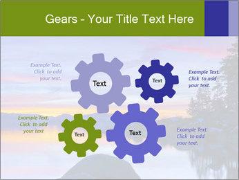 Lake Tahoe Sunset PowerPoint Template - Slide 47