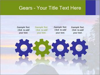 Lake Tahoe Sunset PowerPoint Templates - Slide 48