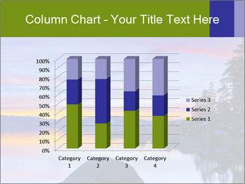 Lake Tahoe Sunset PowerPoint Template - Slide 50