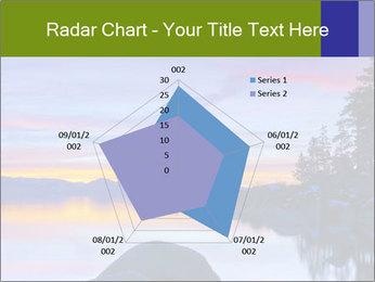 Lake Tahoe Sunset PowerPoint Templates - Slide 51