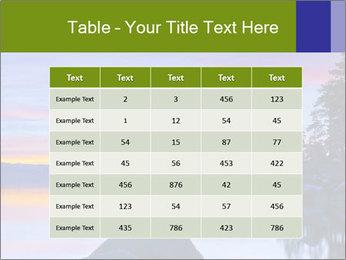 Lake Tahoe Sunset PowerPoint Template - Slide 55