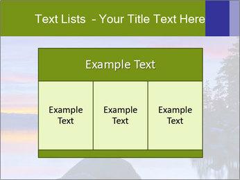 Lake Tahoe Sunset PowerPoint Template - Slide 59