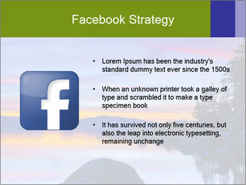 Lake Tahoe Sunset PowerPoint Templates - Slide 6