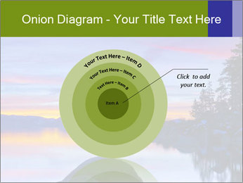Lake Tahoe Sunset PowerPoint Template - Slide 61