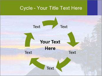 Lake Tahoe Sunset PowerPoint Template - Slide 62