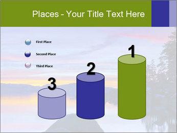 Lake Tahoe Sunset PowerPoint Template - Slide 65