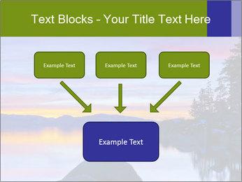 Lake Tahoe Sunset PowerPoint Templates - Slide 70
