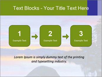 Lake Tahoe Sunset PowerPoint Templates - Slide 71