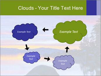 Lake Tahoe Sunset PowerPoint Template - Slide 72