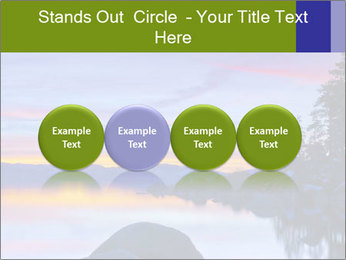Lake Tahoe Sunset PowerPoint Templates - Slide 76