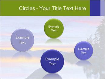 Lake Tahoe Sunset PowerPoint Templates - Slide 77
