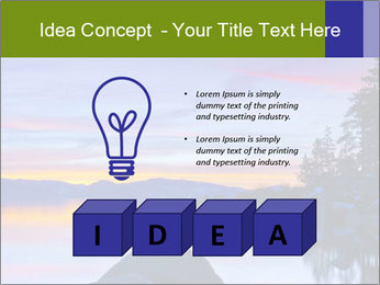 Lake Tahoe Sunset PowerPoint Templates - Slide 80