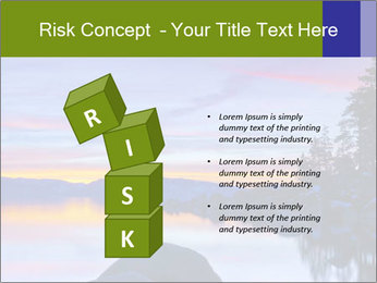 Lake Tahoe Sunset PowerPoint Templates - Slide 81