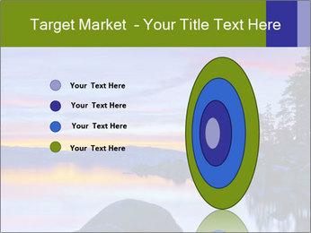 Lake Tahoe Sunset PowerPoint Templates - Slide 84