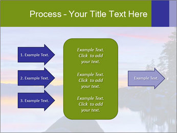 Lake Tahoe Sunset PowerPoint Template - Slide 85