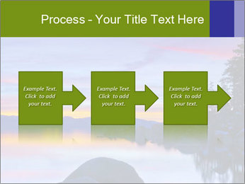 Lake Tahoe Sunset PowerPoint Template - Slide 88