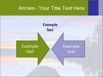 Lake Tahoe Sunset PowerPoint Templates - Slide 90