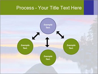 Lake Tahoe Sunset PowerPoint Templates - Slide 91