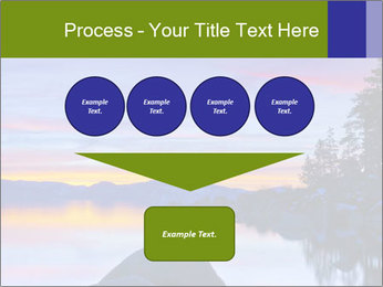 Lake Tahoe Sunset PowerPoint Templates - Slide 93