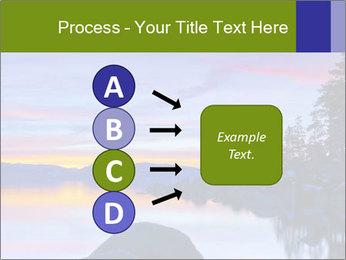 Lake Tahoe Sunset PowerPoint Template - Slide 94