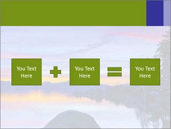 Lake Tahoe Sunset PowerPoint Templates - Slide 95