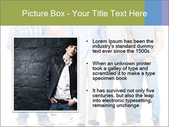Group of men PowerPoint Templates - Slide 13