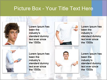 Group of men PowerPoint Templates - Slide 14