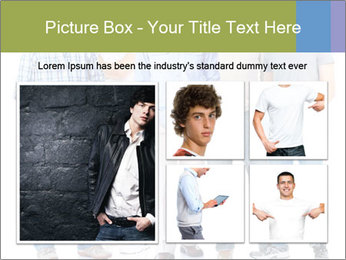 Group of men PowerPoint Templates - Slide 19