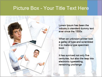 Group of men PowerPoint Templates - Slide 23