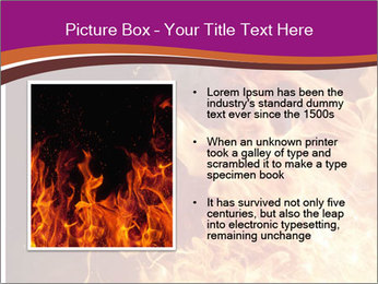 Fire flames PowerPoint Templates - Slide 13