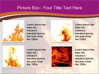 Fire flames PowerPoint Templates - Slide 14
