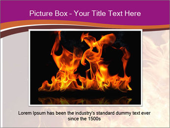 Fire flames PowerPoint Templates - Slide 15