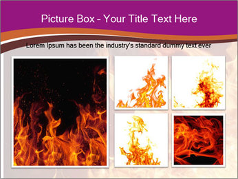 Fire flames PowerPoint Templates - Slide 19