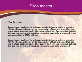 Fire flames PowerPoint Templates - Slide 2