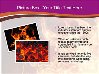 Fire flames PowerPoint Templates - Slide 20