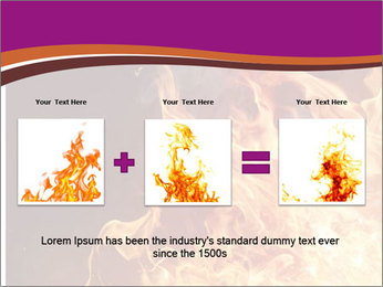 Fire flames PowerPoint Templates - Slide 22