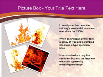 Fire flames PowerPoint Templates - Slide 23